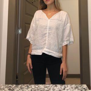 Zara linen blouse
